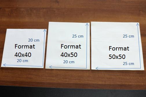 Les grandes serviettes papier