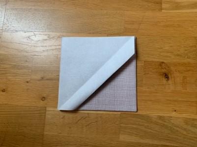 pliage pochette à couvert 5